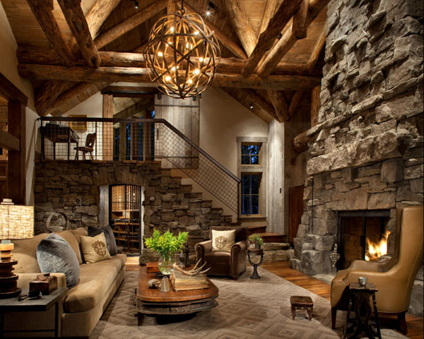 Stunning Decoration Interieur Chalet Bois Contemporary - Home ...